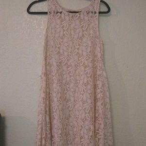 Free people sheer lace dress, tunic, cover-up
